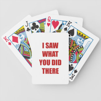 I Saw What You Did There Card Decks