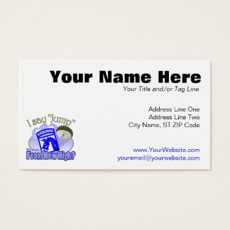 I Say Jump [18th Airborne] Business Card