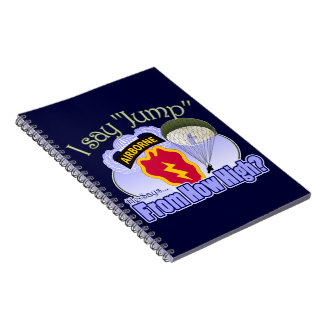 I Say Jump [25th Infantry Division] Note Book