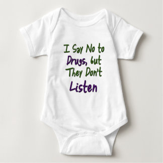 I-Say-No-to-Drugs, Baby Bodysuit