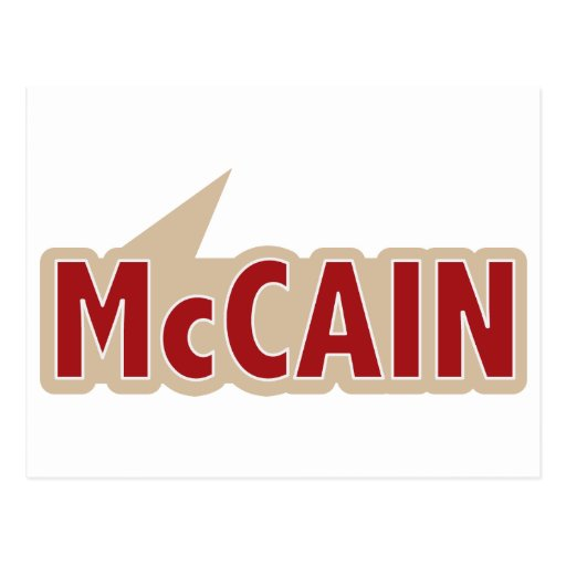 I Say Vote McCain Postcard