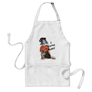 I Scared Myself Adult Apron