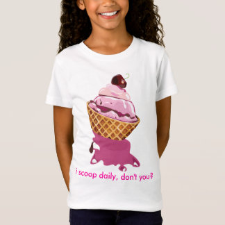 i scoop daily- girl's t-shirt