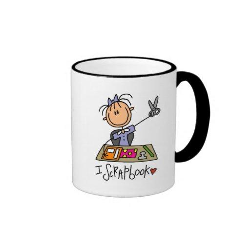 I Scrapbook Tshirts and Gifts Mug