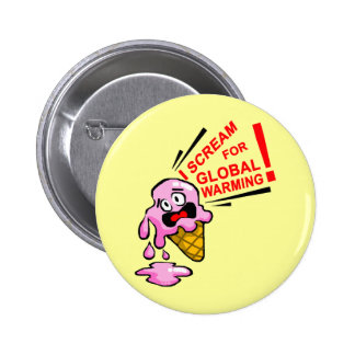I scream for global warming pins