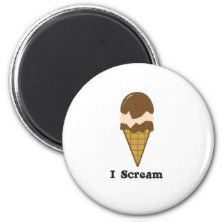 I Scream for Ice Cream Magnet