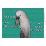 I Scream Greeting Card