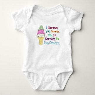 I Scream Ice Cream Infant Creeper