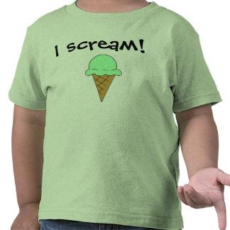 I Scream Ice Cream T-Shirt