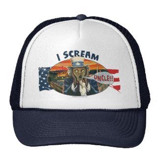 I Scream Uncle Logo Mesh Hat