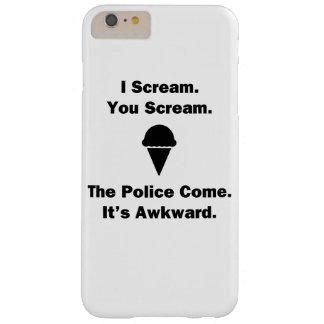 I Scream You Scream Barely There iPhone 6 Plus Case