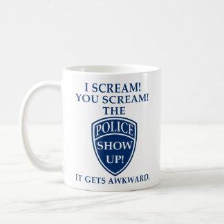 I Scream You Scream Funny Coffee Mug