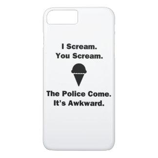 I Scream You Scream iPhone 7 Plus Case