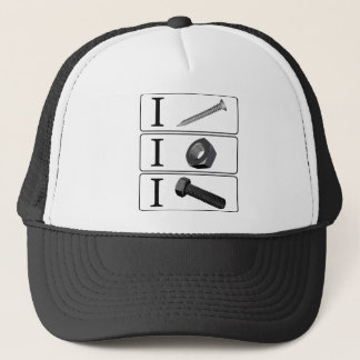 I Screw. I Nut. I Bolt. Trucker Hat