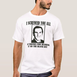 I Screwed You All T-Shirt