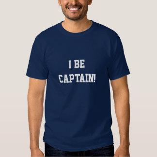 I sea capitán. Azul y blanco. Personalizado Playera