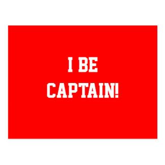 I sea capitán Rojo Postal