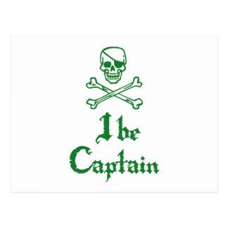 I sea capitán tarjetas postales
