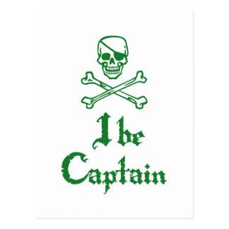 I sea capitán tarjeta postal