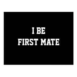I sea primer compañero. Blanco y negro. Postales