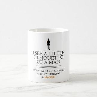 I See a Little Silhouetto.... Coffee Mug