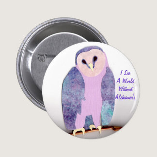 I See a World Owl 1a Button