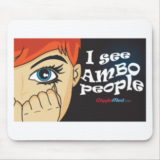I See Ambo People Mouse Pad