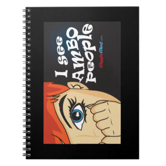 I See Ambo People Notebook