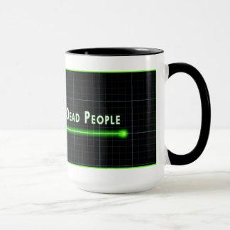 I See BrainDead People on Caffeine Mug