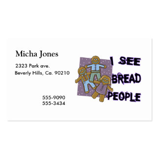 I See Bread People Business Card