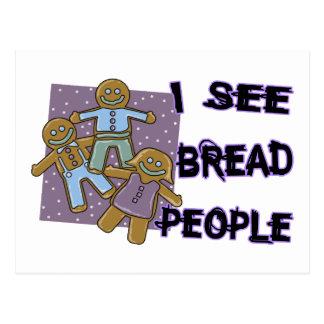 I See Bread People Postcard