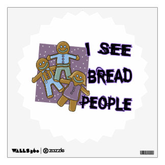 I See Bread People Wall Stickers