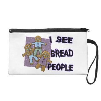 I See Bread People Wristlet