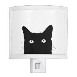 I See Cat Click to Pick Your Color Background Night Light