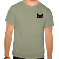 I See Cat Click to Select Your Color Background Tshirt