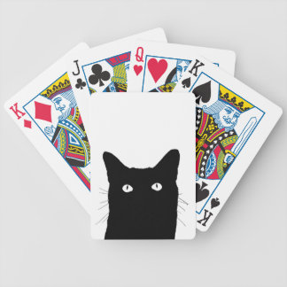 I See Cat Click to Select Your Color Decor Bicycle Playing Cards