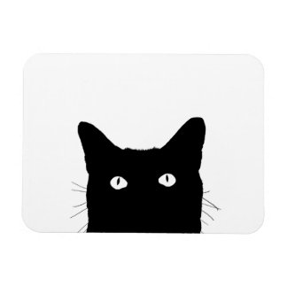 I See Cat Click to Select Your Color Decor Magnet