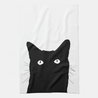 I See Cat Click to Select Your Colorful Decor Kitchen Towel