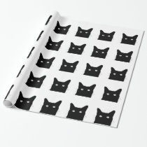 I See Cat Click to Select Your Colorful Decor Wrapping Paper
