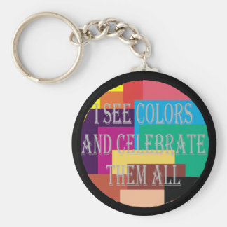 I See Colors Keychain