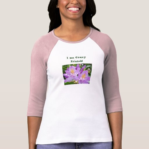 I see Crazy Friends! T-Shirst Custom Rhodies T Shirt