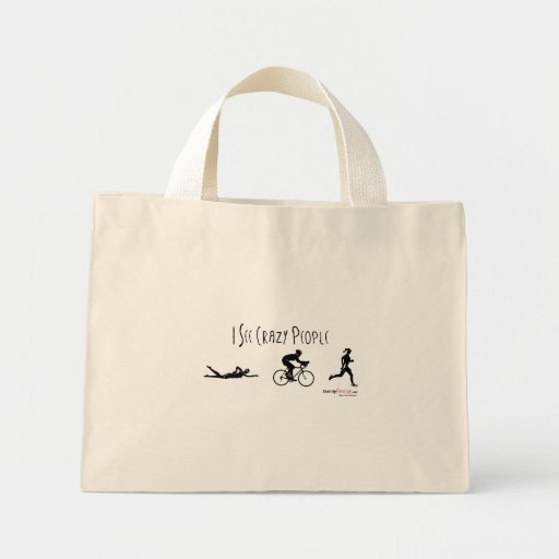 I See Crazy People Canvas Bag