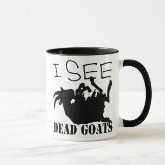 I See Dead Goats Mug