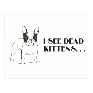 I See Dead Kittens Card