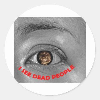 I see dead people sticker