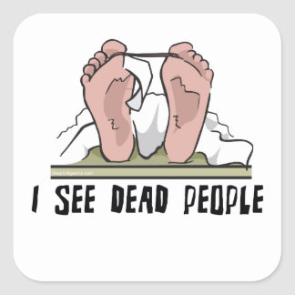 I See Dead People Stickers