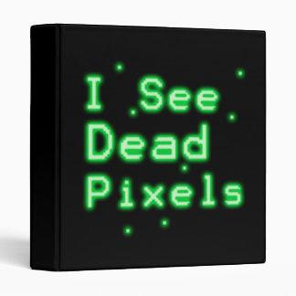 I See Dead Pixels 3 Ring Binder