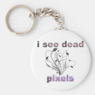 I see dead pixels keychain