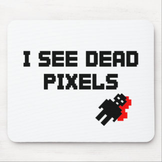 I See Dead Pixels Mouse Pad