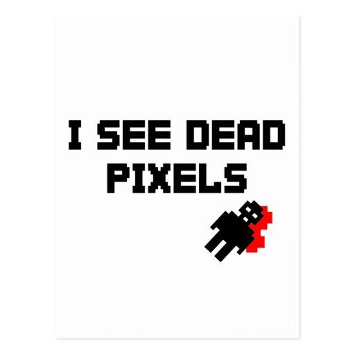 I See Dead Pixels Post Cards